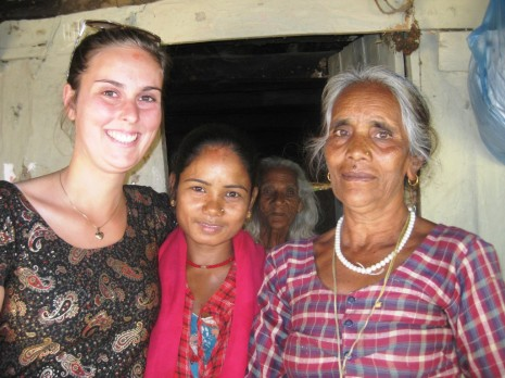 Anette, Kalpana og Ukha