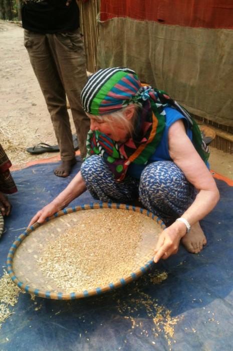 Anjana maa arbejde for foeden