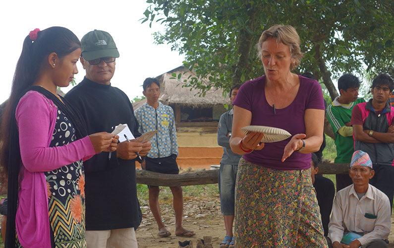 Lone Petersen Jysk landsbyudvikling i Nepal