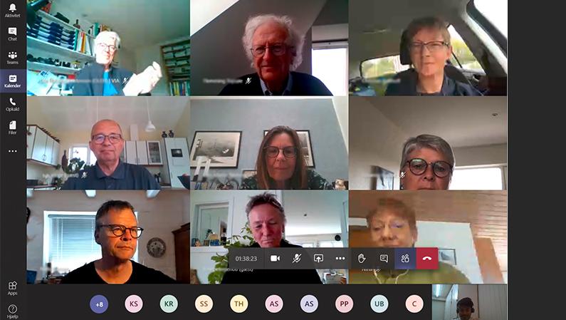Generalforsamling 2020: Første virtuelle generalforsamling i foreningens historie