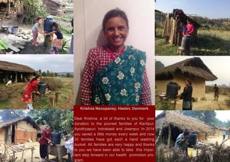 Krishna Neoupaney giver en hånd til Nepal