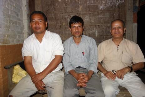 Thanks to Siddhi Lal Gayak, Govinda Panta and Umesh Regmi and many other villagers