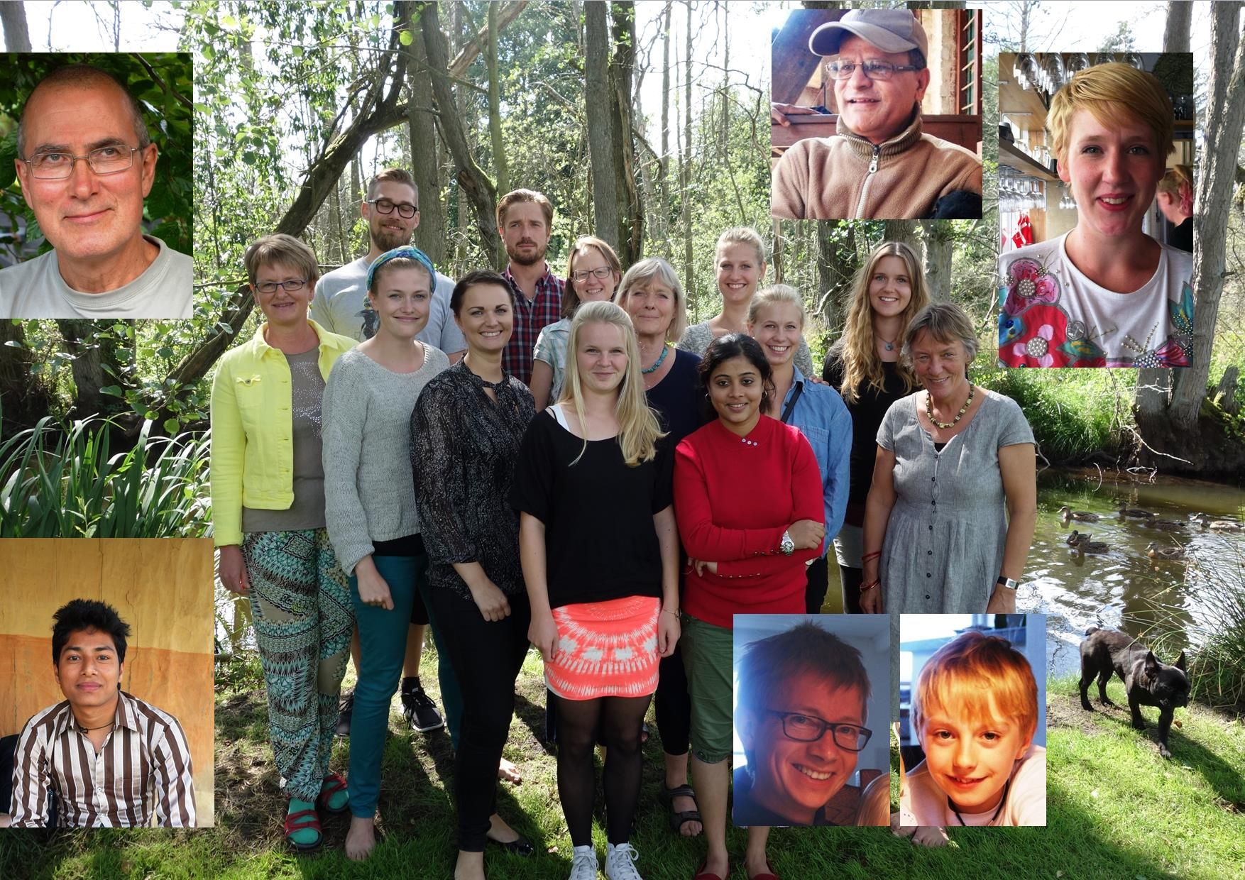 Skole, sundhed, drikkevand, dyrlæge og ny organisation i efteråret 2013