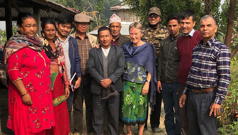 Drikkevandskomitéen i Nepal | Jysk landsbyudvikling i Nepal