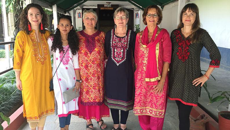 Frivillige i Jysk landsbyudvikling i Nepal