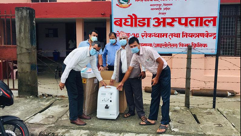 COVID-19: Medlemmer hjælper Madi med akut nødvendigt udstyr