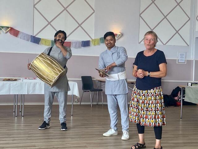 Jubilæumsfest 14. august 2021_Nepalesisk musik