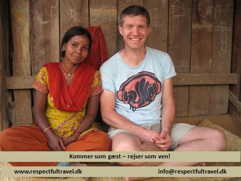 Indra Gayak og Peter Michaelsen