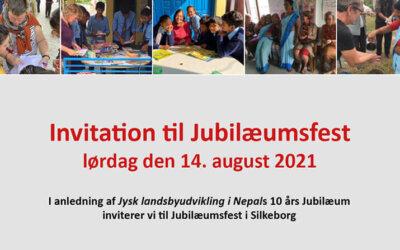 10 års Jubilæumsfest i Silkeborg