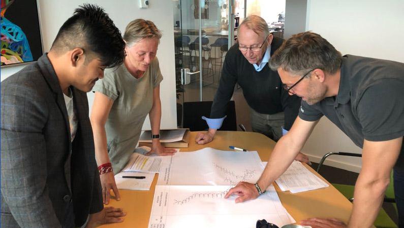 Møde: Jysk landsbyudvikling i Nepal, Envidan og Poul Due Jensens Fond