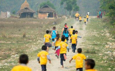 Se dokumentaren på TV2 Østjylland: Stort børneløb i Nepal