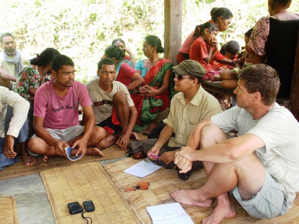 Møde om nyt turisme projekt