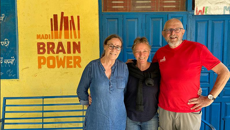 Biblioteket Madi Brain Power blev overdraget til Madi Kommune