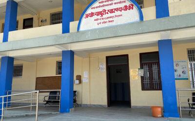 Rotary støtter den nye sundhedsklinik med udstyr og kompetenceudvikling
