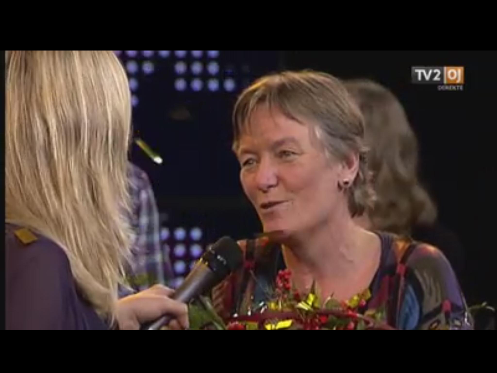 """Lone Petersen kåret som """"Årets Østjyde 2013"""""""
