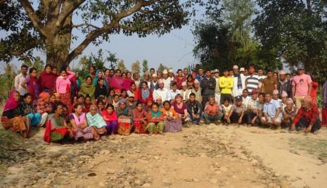 Over 100 mennesker deltog i stormøde om drikkevand og udviklingsprojektets fremtid - lørdag 22. marts 2014