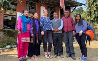 Nyt skoleprojekt på Kantipur og Ayodhyapuri skoler
